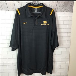 Lot of 2 Nike Southern Miss Golden Eagles Polo 2XL